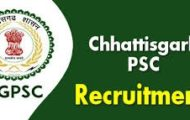 CGPSC Recruitment 2020 – Apply Online For 162 Assistant Posts