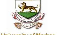 Madras University Recruitment 2021 – Various Guest Faculty Posts   Apply Now